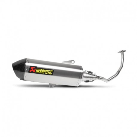 S-H125R3-HRSS : Akrapovic Full Exhaust System Forza 125