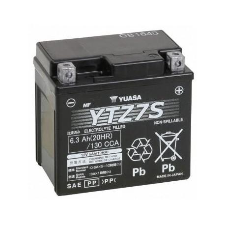 YTZ7S : Batterie Yuasa YTZ7S Forza 125 NSS