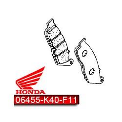 06455-K40-F11 : Plaquettes de frein Avant d'origine Honda Forza