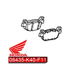 06435-K40-F11 : Plaquettes de frein Arrière d'origine Honda Forza 125 NSS
