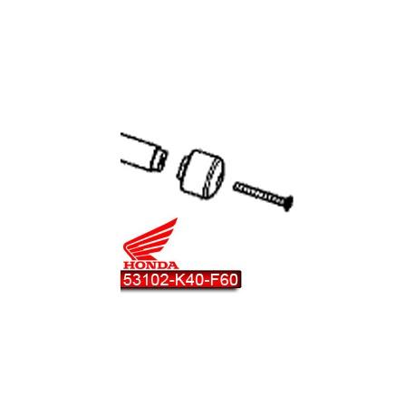 53102-K40-F60 et 90191-K0B-T00 : Honda Handlebar Endcap Forza 125 NSS