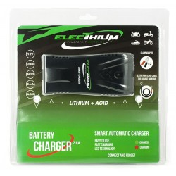 ACCUB03 : Chargeur batteries lithium Forza 125 NSS