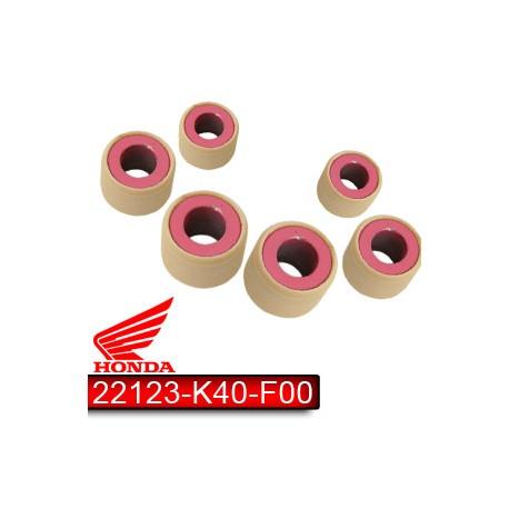 22123-K40-F00 : Jeu de galets d'origine V1 Forza 125 300 NSS