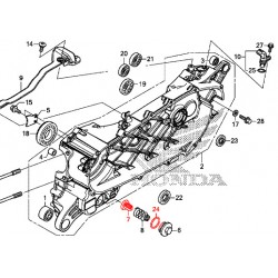 15421-KPL-900 + 91302-001-020 : Engine strainer kit Forza 125 300 NSS