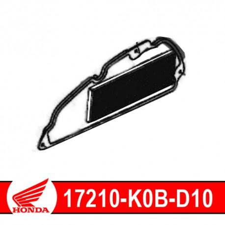 17210-K0B-D10 : Honda OEM Air Filter Forza 125 300 NSS