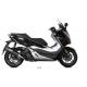 1096373001 - MV.HO.0002.LV : Silencieux MIVV Mover inox noir Forza 125 300 NSS