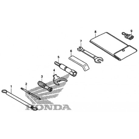 outils_nss125_epc : Honda OEM Tool Kit Forza 125 300 NSS