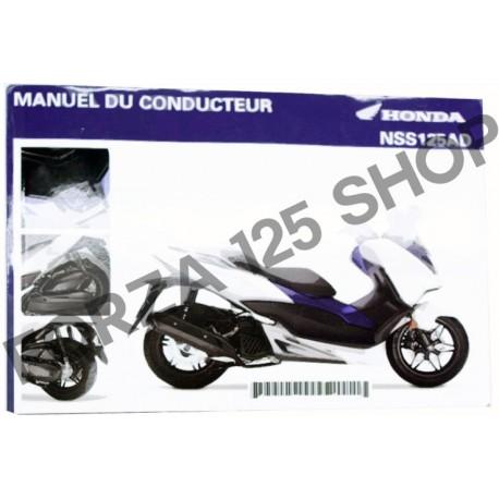 33K40L11 : Manuel Forza 2017 (V2) Forza 125 300 NSS
