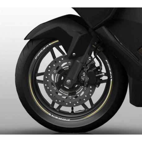 08F76-K40-F01Z : Honda Rim Stickers Forza 125