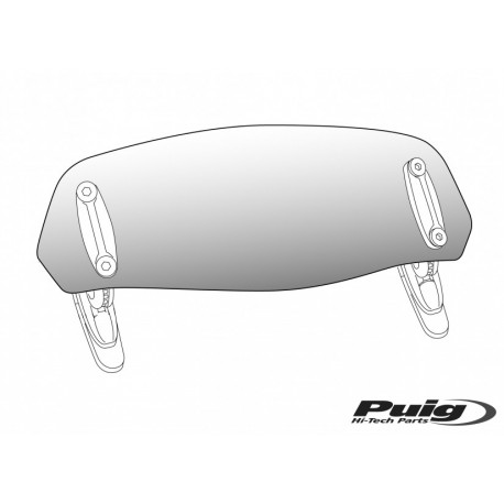 6320 : Puig Clip-on Visor Forza 125