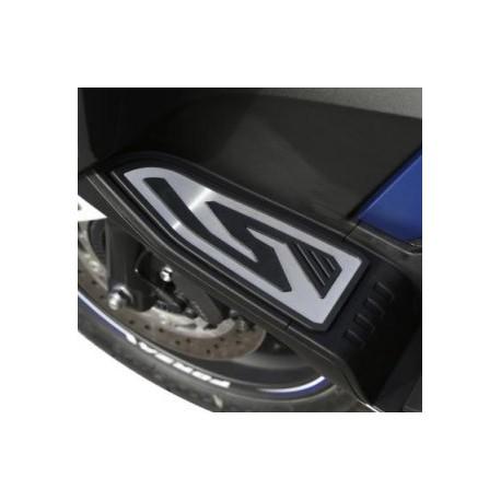 08F72-K40-F00 : Honda Aluminium Footrest Kit Forza 125 300 NSS